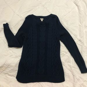 Beautiful cable-knit sweater